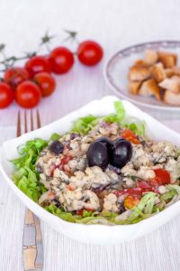 Healthy couscous salad the perfect party food