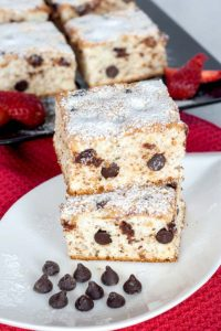 Easy to make dessert with walnuts and chocolate chips
